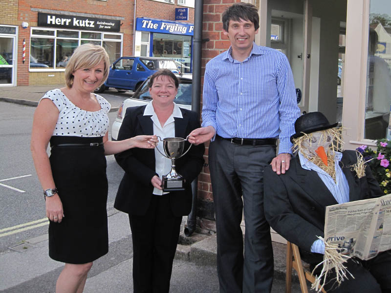 Warsash Scarecrow competition winners!